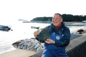 小豆島の海苔漁師さん