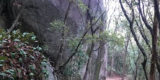 岩谷の天狗岩②