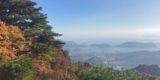 寒霞渓の紅葉シーズン