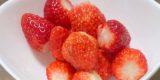 甘酸っぱい小豆島のいちご