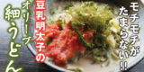 讃岐うどんアレンジレシピのご紹介